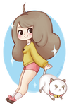 Bee and Puppycat by TrefleIX