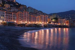 Camogli at Dusk by rtraverso86