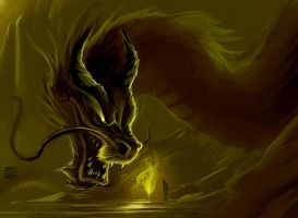 Chinese Dragon ~ Speed Painting by TheRisingSoul