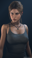 Barbell Lara Croft 2015 BETA by lemon100