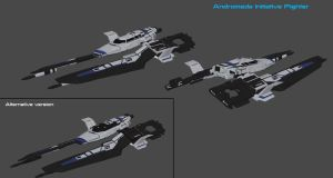Andromeda Initiative Fighter by nach77