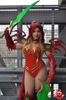 Valeera  sanguinar cosplay by ValeeraHime