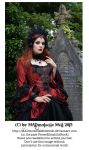 Vampire Queen Stock Gothic 005 by MADmoiselleMeliStock