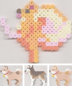 Pom Gets Wi-fi perler bead sprites by Marsharino