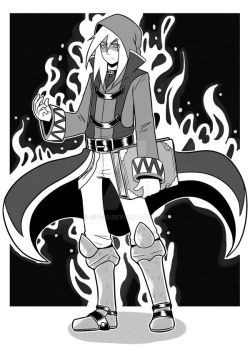 Wizard - [COMMISSION] by Gi0Gi0