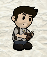 Paper Nathan Drake by Know-Kname