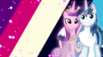 Shining Armor and Cadence Wallpaper by SailorTrekkie92