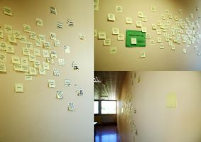Moi, j'aime les post-it. by CoyNino