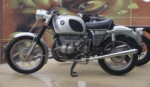 Old BMW bike by Dany-Art