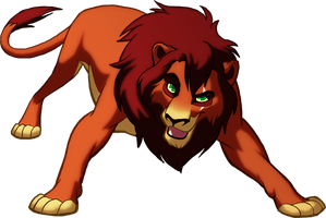 Kovu Looking Awesome by rasenth