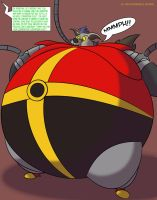 Filling In the Role of Dr. Robotnik by MercurytheWereWulff