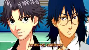Wall psp Atobe and Oshitari 2 by RainboWxMikA