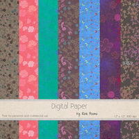 More March Paper by Rene Blooms by SunnyFunLane