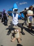 Mordecai and Rigby - Regular Show cosplay by Pierrot-sama