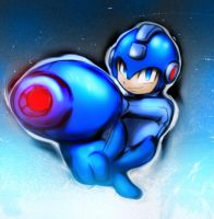 MEGA MAN STRIKE IT by WhiteFox89