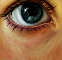 eye study by magicnmyth