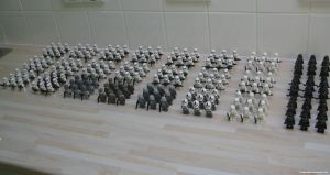 Lego Galactic Empire by franklando