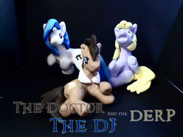 The Doctor, the DJ and the Derp by Katlyon