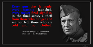 Eisenhower by brainhiccup