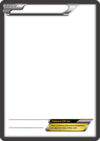 BW Pokemon-EX no text card blank template by The-Ketchi