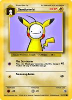 My Pokemon card of Cry by P0k3monW0lf