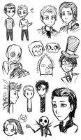 Fandom Doodles by 10yrsy