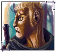 Drahas Portrait by MrHarp