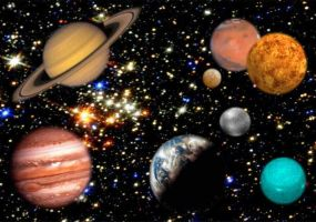 Our solar system planets by LiviuSquinky