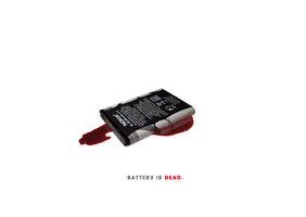 The battery is dead. by mprox