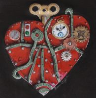 Steampunk Heart by Dangerskillz