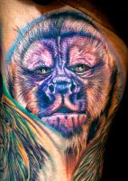 monkey by tat2istcecil
