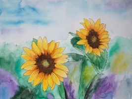 Sunflowers 3 by ConnyDuck