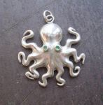octopus pendant by morpho2012
