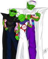 DBZ: Family Picture by LovesTransformers