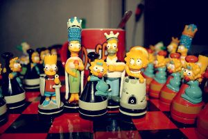 Simpson chess by MixedMilkChOcOlate