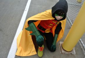 Damian Wayne: Unlimited by kay-sama