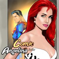 Angelina Jolie in Comics by solovampiros