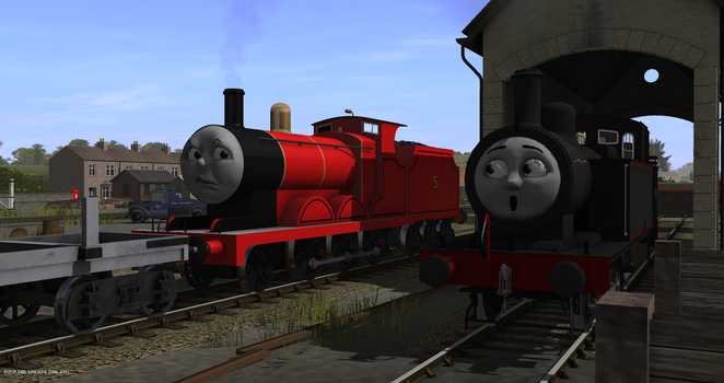 James and Jinty by FfarquharEngine
