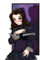 Bella Swan Gothic Lolita by sykoeent