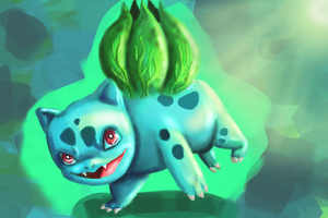 Bulbasaur by TalkingToMySoul