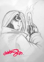 gambit LFCC sketch by deemonproductions