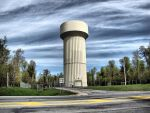 Water Tower HDR JeffCo NY by Lectrichead