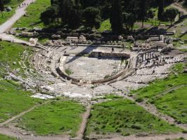 The theatre of Dionysus - Untouched by woodsman2b