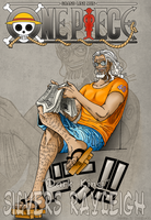 One piece Silvers Rayleigh by Natalya-Ru