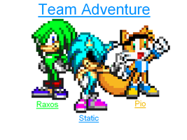 Team Adventure by staticthehedgehog02
