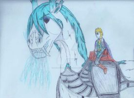 The Frozen Knight and the Frost Dragon by Knight-Of-God