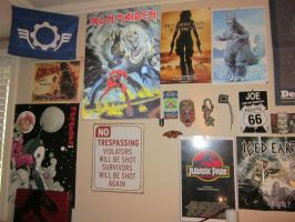 My poster wall 1 by Rapt3rX