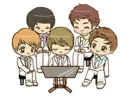 DBSK cute Hahaha ANIMATION VID by AcchanChangmin