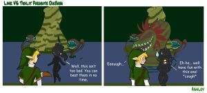 Link VS Twilit Parasite by Silver-the-kid