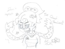 Don't Upset Lana B ghost by Kittychan2005